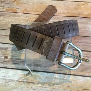 Genuine Leather Slotted beltSmall